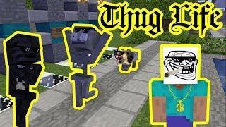 Monster School : THUG LIFE CHALLENGE - Minecraft Animation