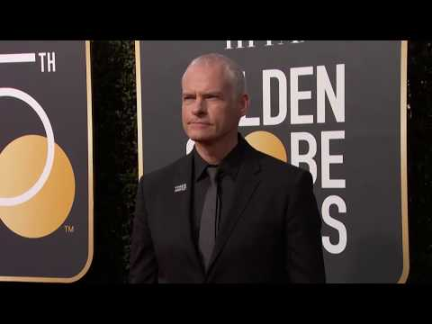 Martin McDonagh Golden Globe Awards Fashion Arrivals (2018)