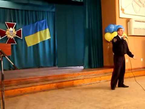 Батальон милиции принимал поздравления