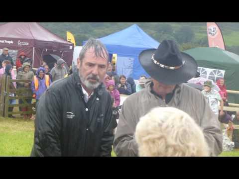 Martin Clunes and Neil Morrissey reunite at Buckham Fair 2017