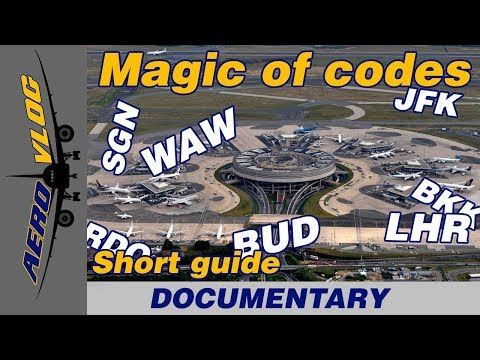 Airport codes - all you need to know. AeroVlog [ENG+SUBS]