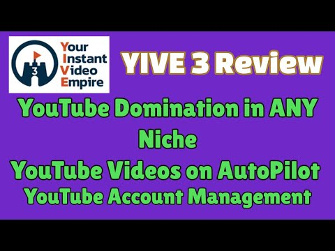 YIVE Review | Amazon Videos | RSS Feed Videos | Videos on Autopilot | Limited Launch thumbnail