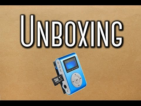 Unboxing #7 Aliexpress Mini Mp3 Shuffle com Visor