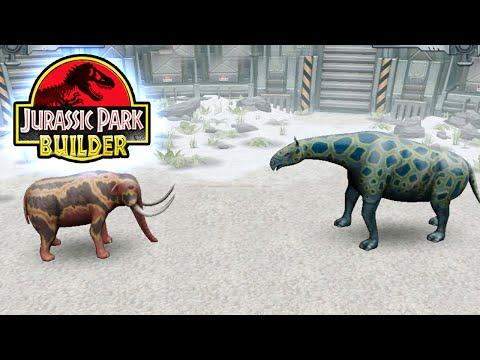 Megaforna BATTLE - Jurassic Park Builder GLACIER || Ep28 HD
