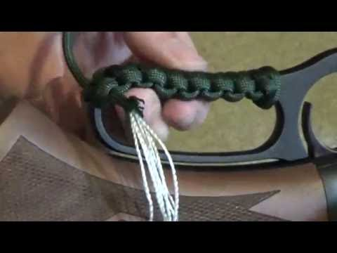 Easy, Simple Lever Action Rifle Paracord Loop Wrap Tutorial (Marlin 336)
