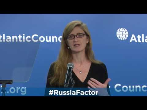 A Conversation with The Hon. Samantha Power, US Ambassador to the United Nations