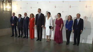 La Reina Letizia sorprende en la inauguración del Teatro Real