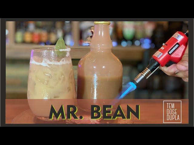 Drink com CACHAÇA e Feijão - MR BEAN
