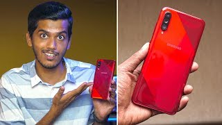 Samsung Galaxy A70s First Impressions! Is it Worth Rs. 29,000?