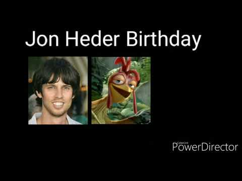 Jon Heder Birthday
