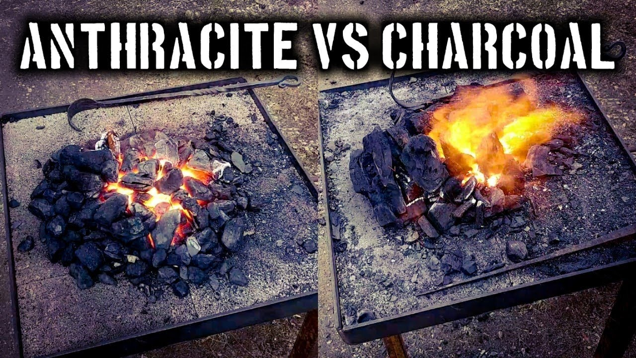 anthracite coal vs charcoal