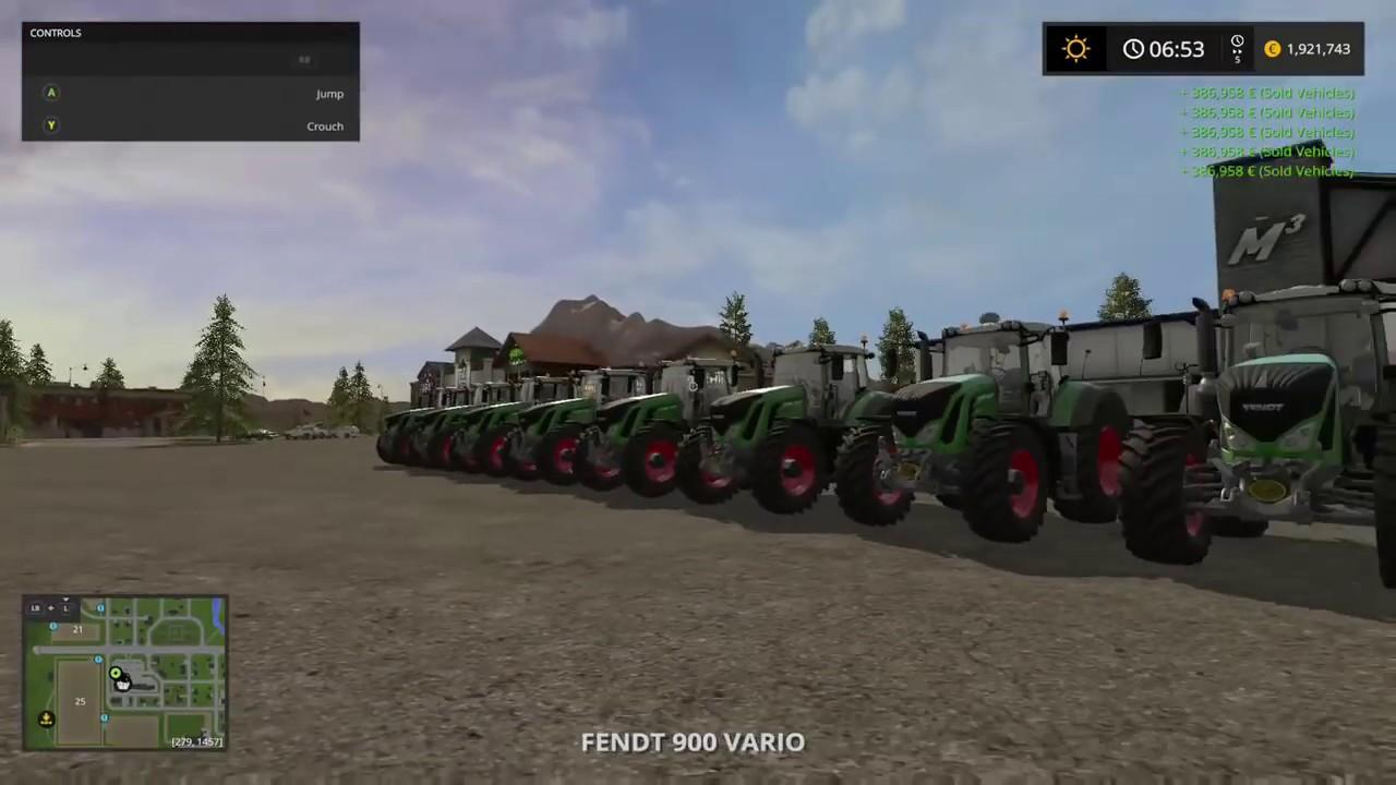 Farming Simulator 17 Money Glitch Xb1 Ps4 Pc 2016 2017 Youtube