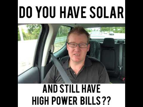 Solar PV with high power bills