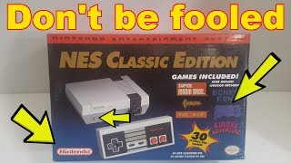 Don't be fooled!! How to spot a fake NES Classic Bootleg