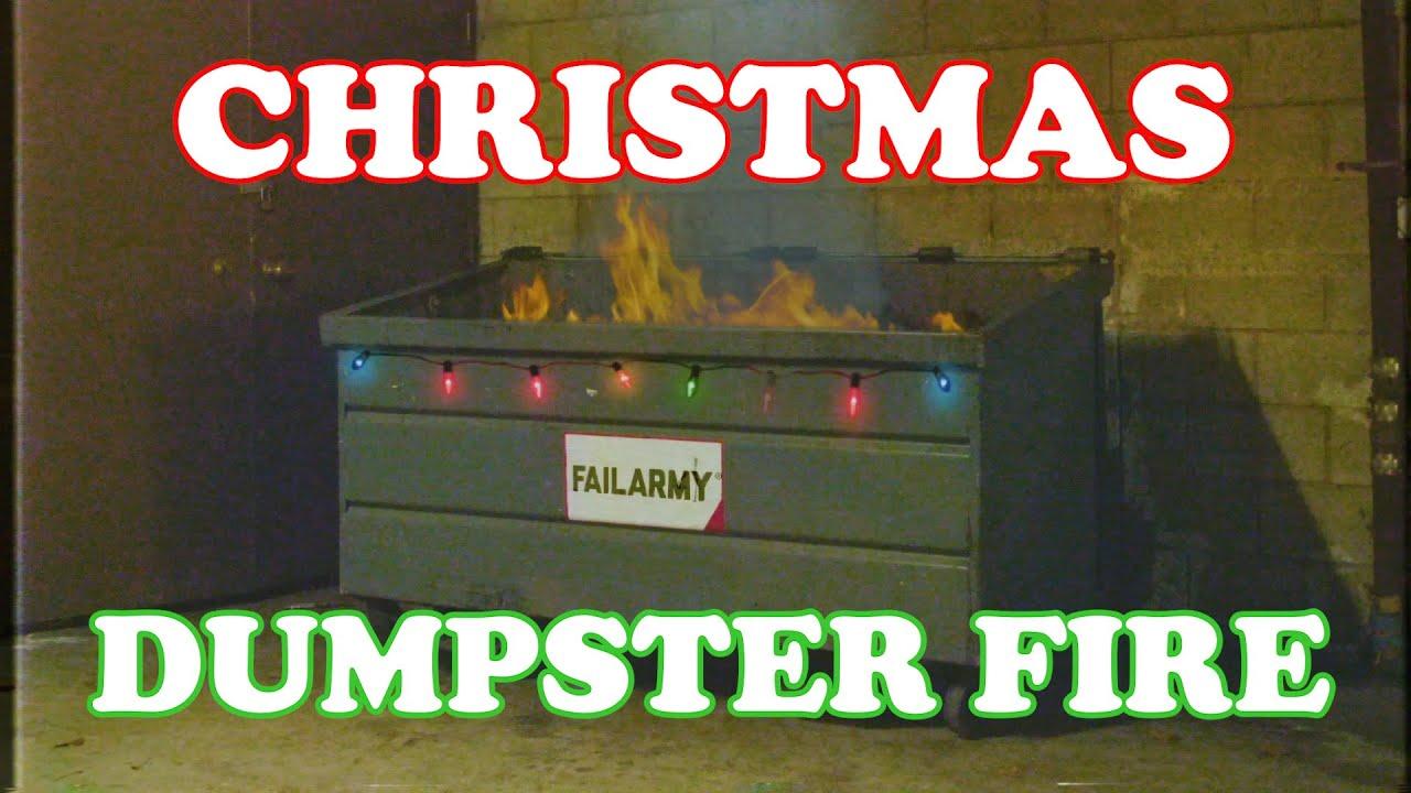 🔥 Virtual Yule Log – Dumpster Fire 2020 – FailArmy Classic Christmas Soundtrack 🔥