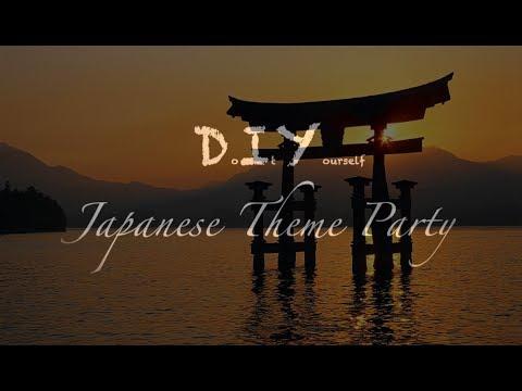 DIY Japanese theme party!!! (Tutorial)