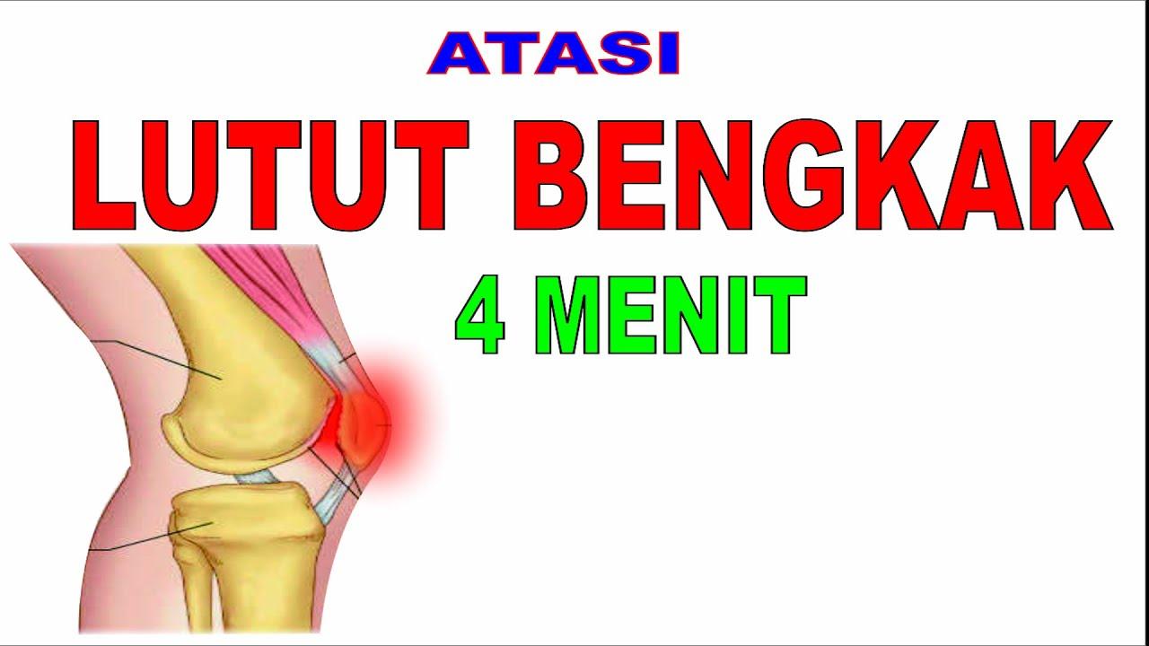 cara mengobati lutut bengkak