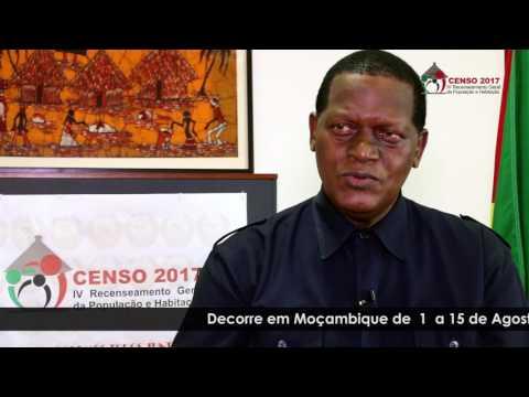 Mensagem do Presidente do Instituto Nacional de Estatística sobre o Censo 2017