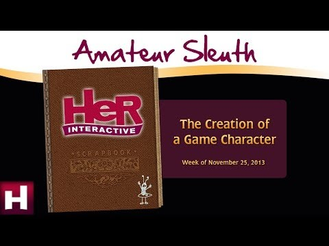 Amateur Sleuth Blog: The Creation of a Character | Nancy Drew Games | HeR Interactive
