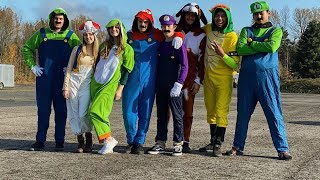We Dressed Up as All The MARIO KART CHARACTERS & went drifting