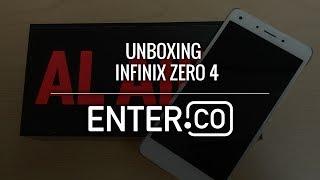 Unboxing Infinix Zero 4