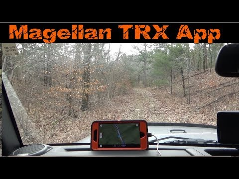 Magellan TRX Off Road GPS App For IPhone And Android    Awesome !