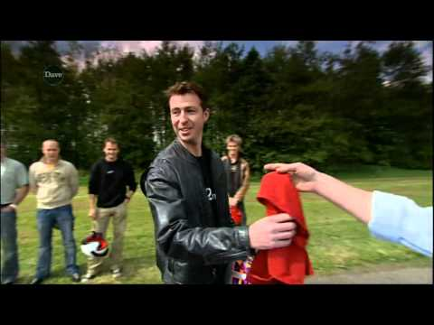 Ben Collins on Top Gear before he became The Stig