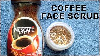 DIY Coffee Face Scrub| Reverses Sun Damage, Restores Aging Skin & Brightens Skin