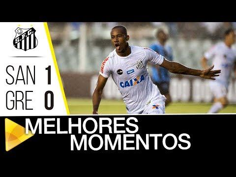 Santos 1 x 0 Grêmio | MELHORES MOMENTOS | Brasileirão (19/11/17)
