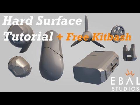 Hard Surface Modeling Timelapse & Tutorial