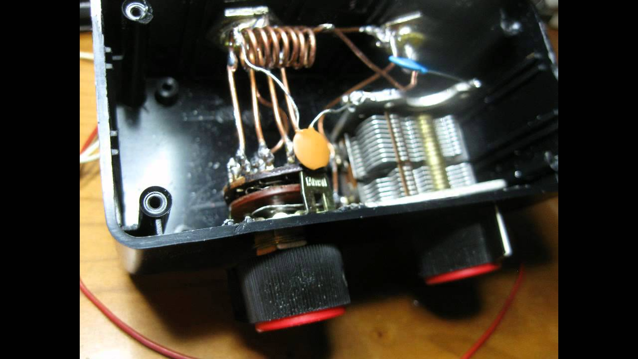 DIY VHF ANTENNA TUNER made from junk