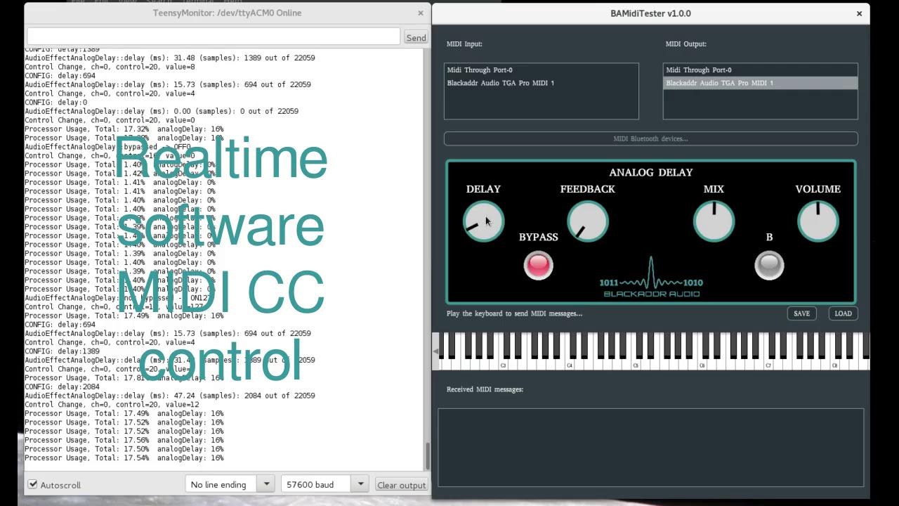 BAMidiTester - Free MIDI Controller Software