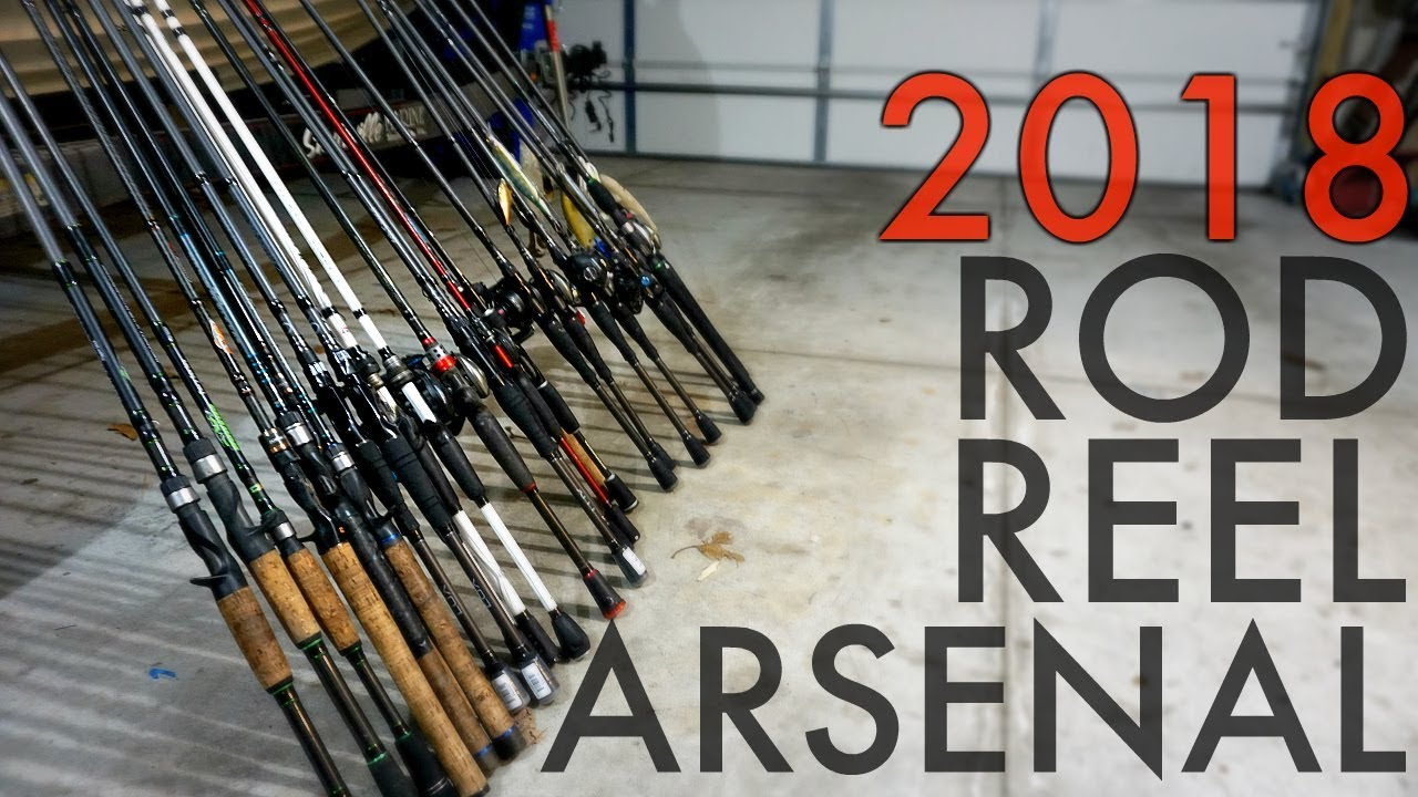 Bass fishing rod reel arsenal 2018 finally youtube for 6th sense fishing