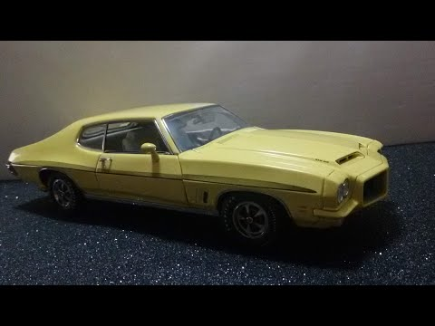 Review of a 1:18 GMP 1972 Pontiac Le Mans diecast model car