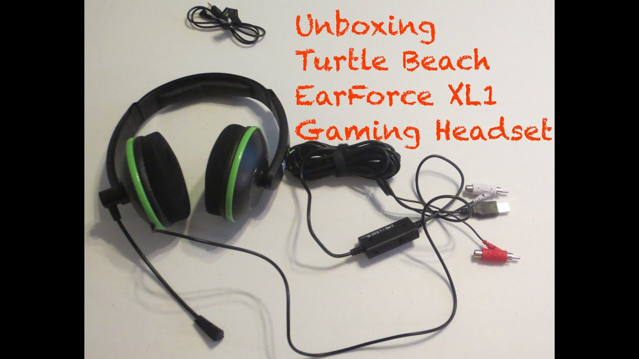 e36bdc97304 TURTLE BEACH XL1 Gaming Headset UNBOXING (xbox 360) - YouTube
