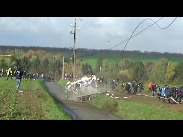 Rally du Condroz 2017   Big Crash & Flatout Action  [HD]