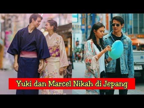 Resmi Menikah, Inilah Potret Mesra Yuki Kato Dan Marcell Darwin Di Jepang