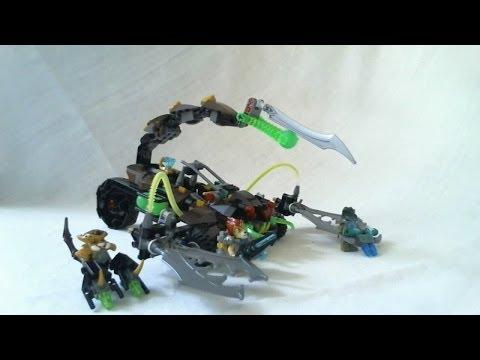 LEGO Live Construction : Legends of Chima's Scorm's Scorpion Stinger (2/2) [Français]