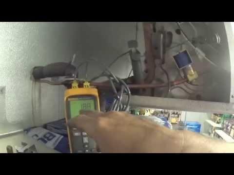 Adjust the superheat setting on the expansion valve