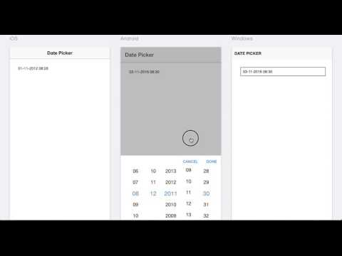 Ionic Date Picker Example | How to use Date Picker in Ionic