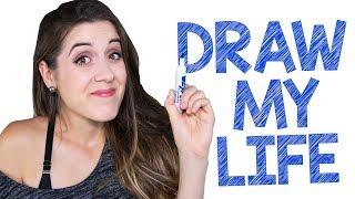 DRAW MY LIFE - MA VIE EN DESSIN | DENYZEE
