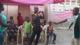 King Jesus Charity Home (Boadi Kumasi near KNUST) Dancing