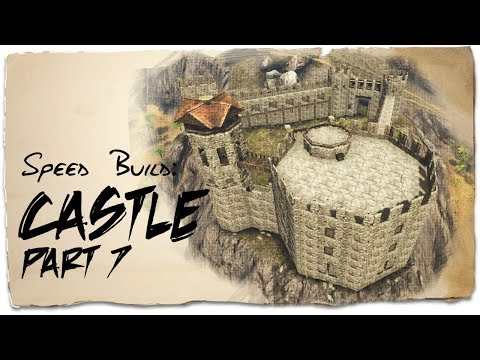 Building a Castle: Part 7 - Octagonal Keep | ARK: Survival Evolved | Base Design