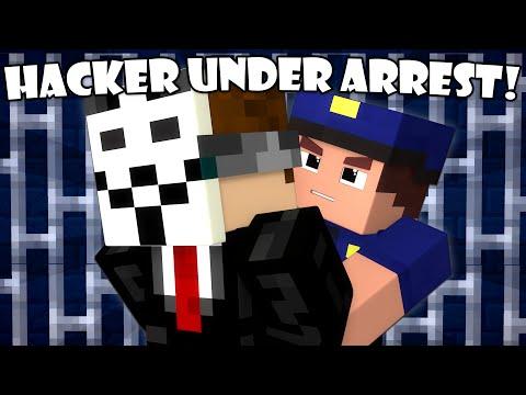 If a Hacker Got Arrested - Minecraft