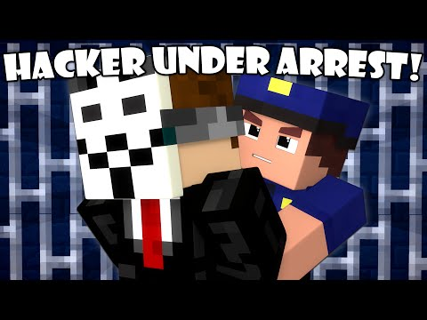 Thumbnail: If a Hacker Got Arrested - Minecraft