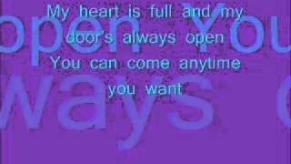 Repeat youtube video She will be loved lyrics