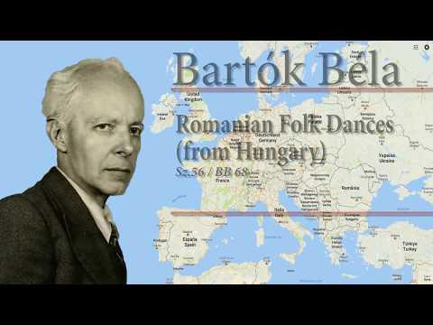 Béla Bartók: Romanian Folk Dances (from Hungary) Sz. 56 / BB 68