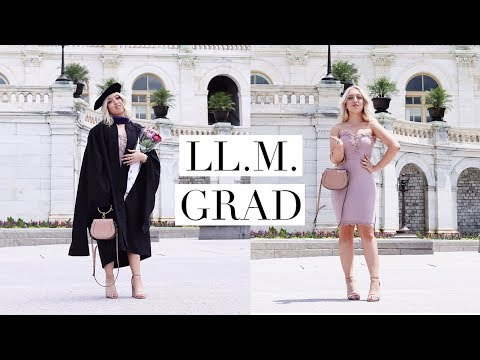 LAW SCHOOL GRADUATION & MY GPA | DC Diaries #24