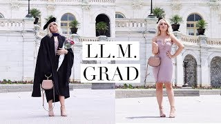 LAW SCHOOL GRADUATION & MY GPA | DC Diaries #24