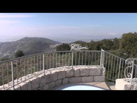 Panoramic walk from La Turbie